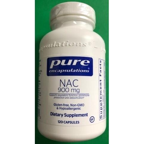 NAC 900 mg 120